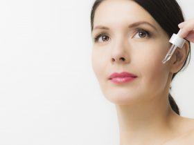 Serum facial aplicación