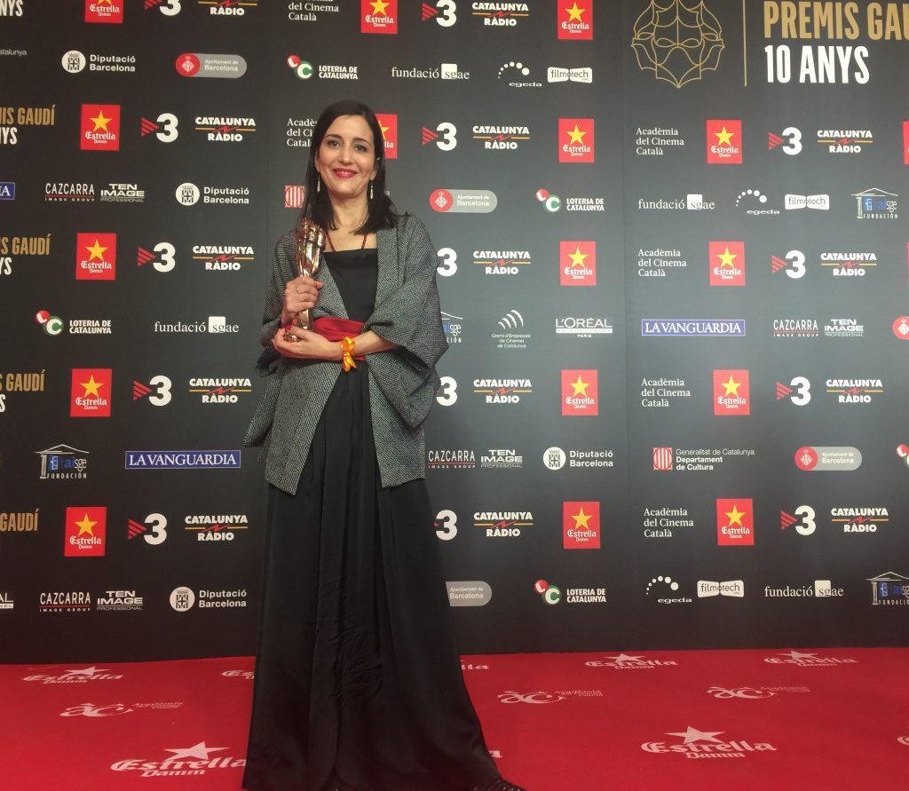Alma Casal, ganadora del Premio Gaudí de Maquillaje