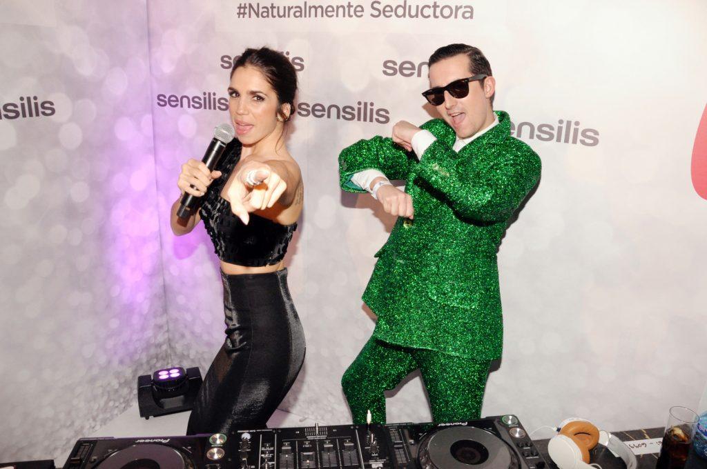 Elena Furiase y DJ Crawford