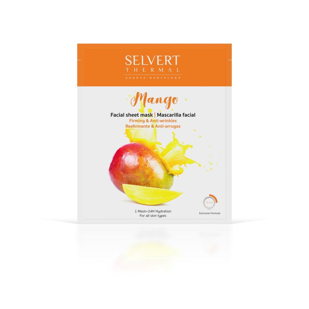 320204 facial sheet mask mango