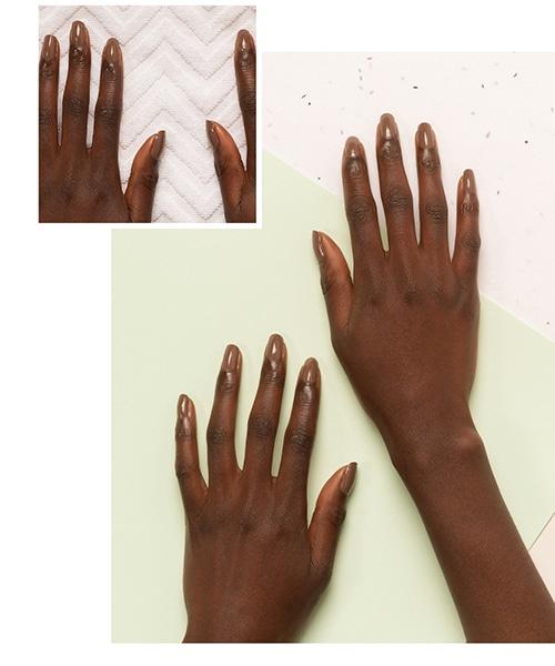 nails dark