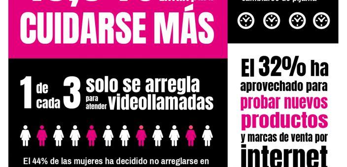 Rutinas de cuidado y belleza de las españolas durante el COVID-19