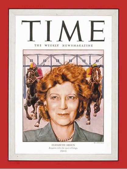 Revista Time Elizabeth Arden