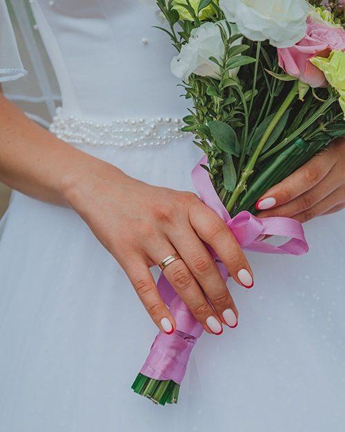 manicura para novias