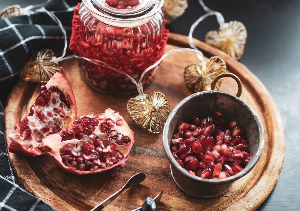 granada mejores frutas para la piel