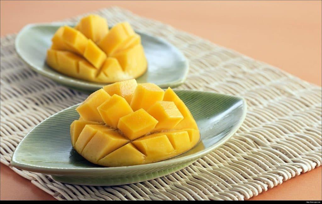 mango mejores frutas para la piel