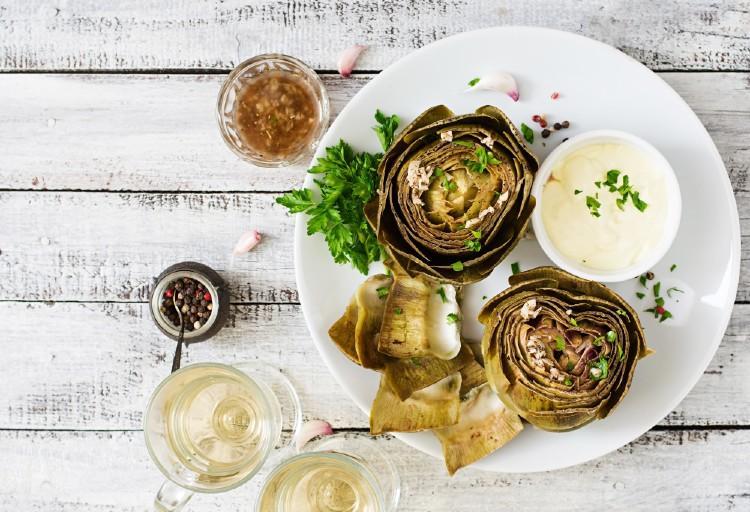 recetas dieta de la alcachofa